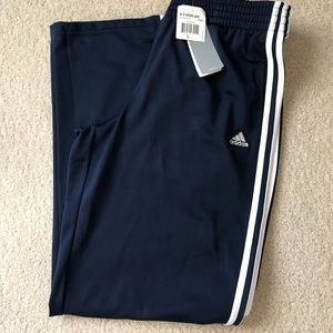 Women's blue adidas track pants